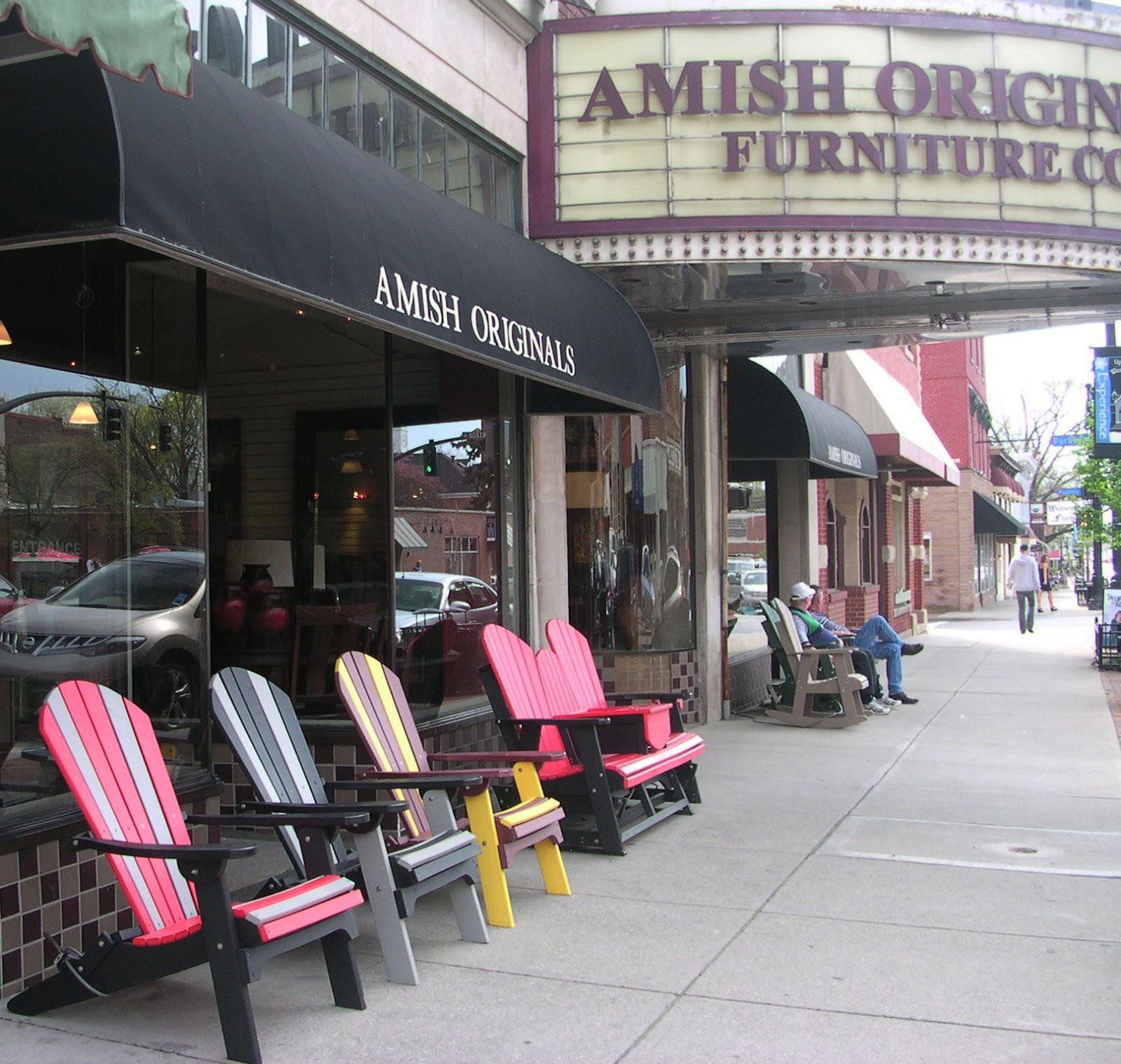 Amish Originals Furniture Co Signs Of Spring