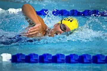 Berikut cara dasar renang untuk gaya bebas:    1. melakukan ancang-ancang  di dalam air dengan menempelkan kaki ke dinding yang ada pada kolam renang