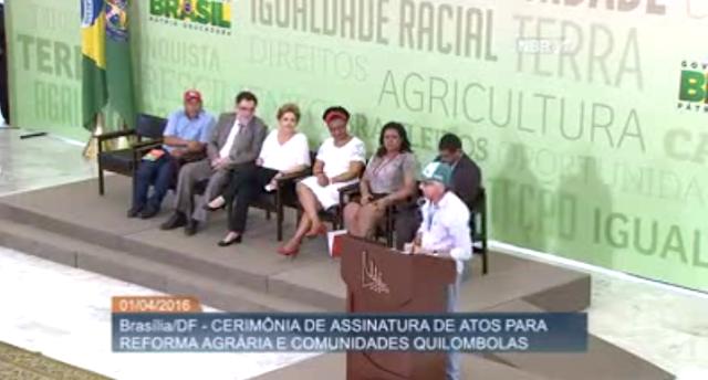 Em evento no Palácio do Planalto, entidades esquerdistas chamam Moro de golpista e ameaçam de forma criminosa invadir propriedades