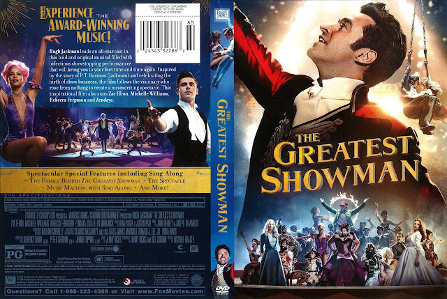 The Greatest Showman DVD Cover