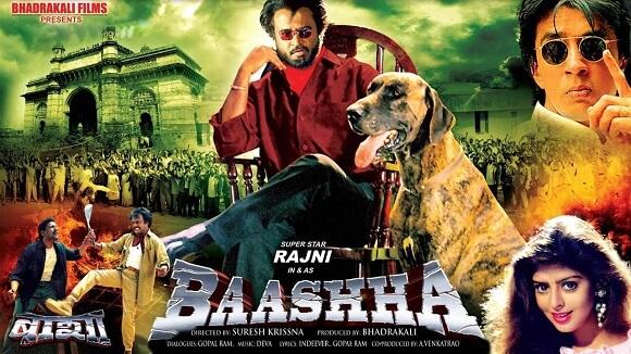 Baasha 1995 Hindi Dual Audio 720p & 480p HDRip Movie Download