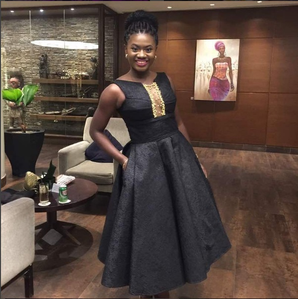Actress Martha Ankomah at Glitz Style Awards 2017