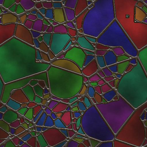 Stained Glass Pattern 4