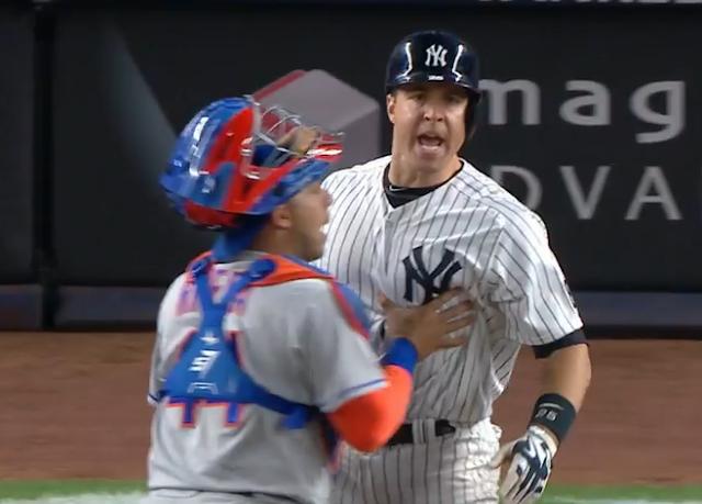 Mark Teixeira angry