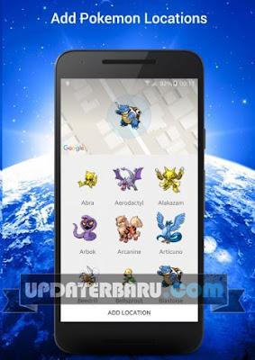 Poke Radar Apk v1.2 Aplikasi Untuk Menampilkan pokemon
