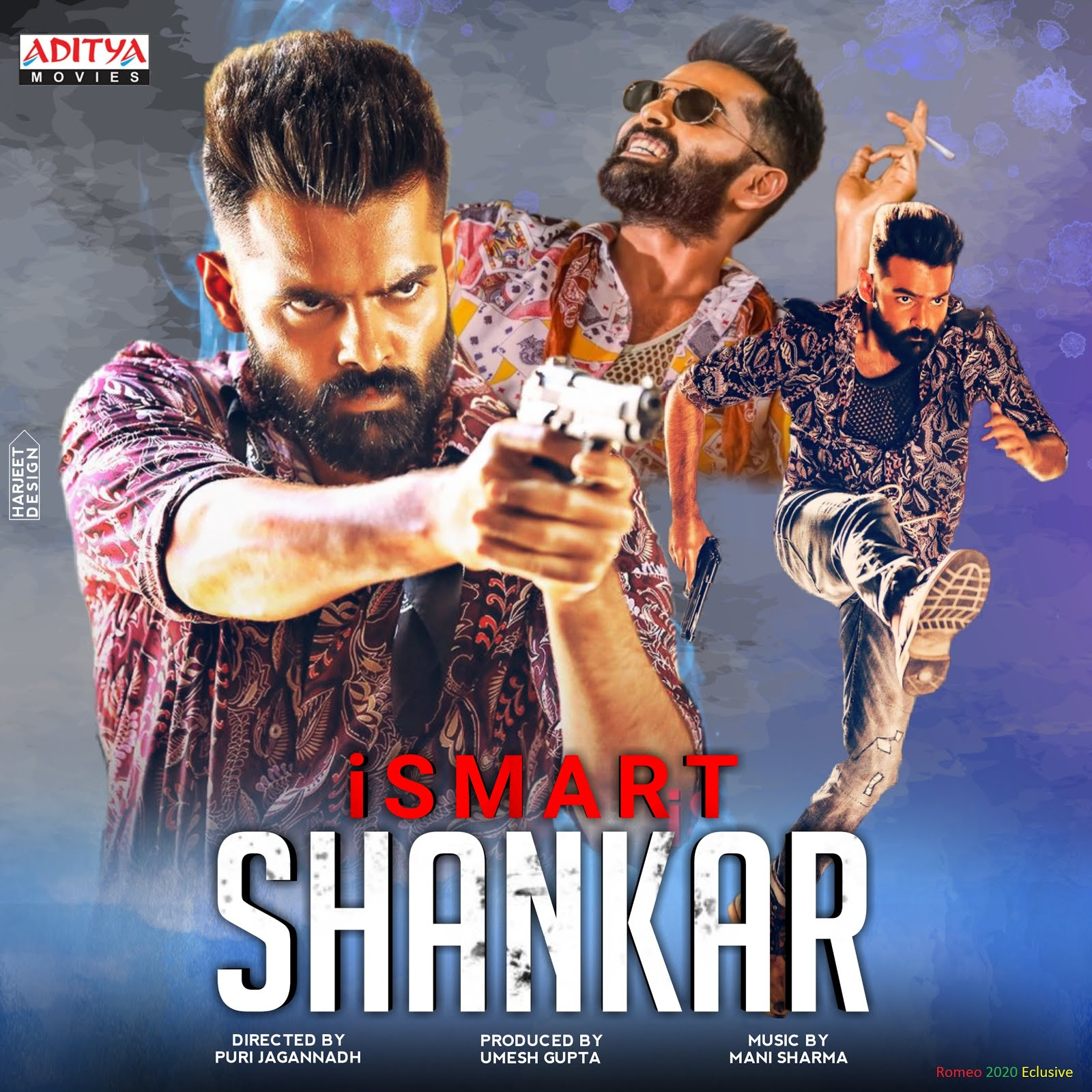 iSmart Shankar 2020 Hindi Dubbed 900MB HDRip Download