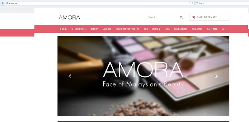 Join Affiliate Amora.My