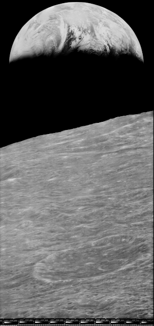 Today in Science Alerts : Earth From the Moon
