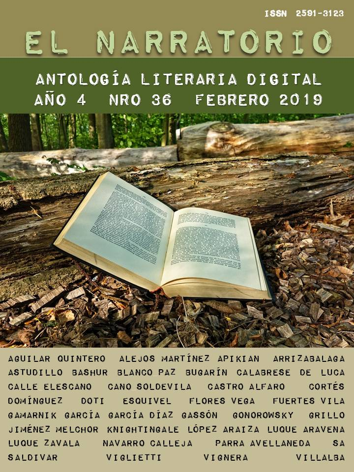 EL NARRATORIO  ANTOLOGÍA LITERARIA DIGITAL NRO 36