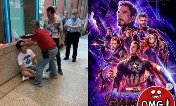 Spoiler Film Avengers Endgame Ke Pengunjung Bioskop, Pria Ini Dihajar Para Calon Penonton