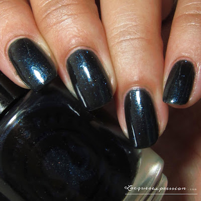 nail polish swatch of Sobriquet by indie polish maker Octopus party nail lacquer OPNL