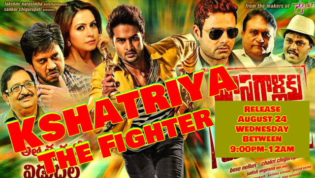 Kshatriya The Fighter 2016 Full Movie Hindi Dubbed 350MB 480p