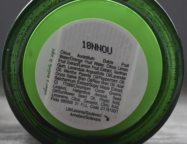 Mascarilla Antipolución de KIEHL'S de Cilantro y Extracto de Naranja