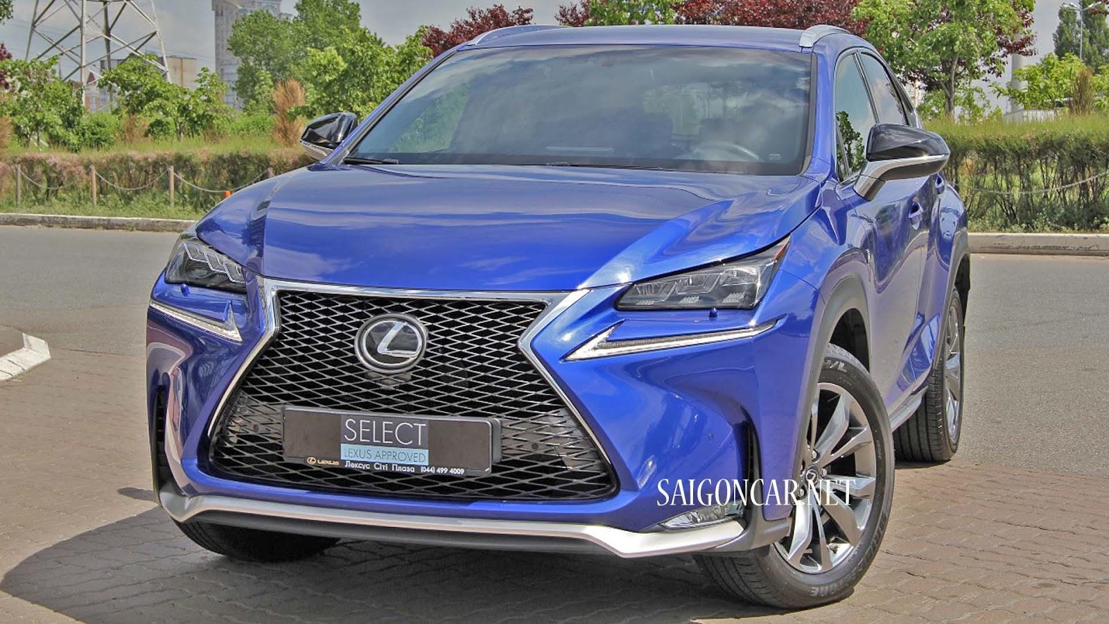 giá xe Lexus NX 200T 2019