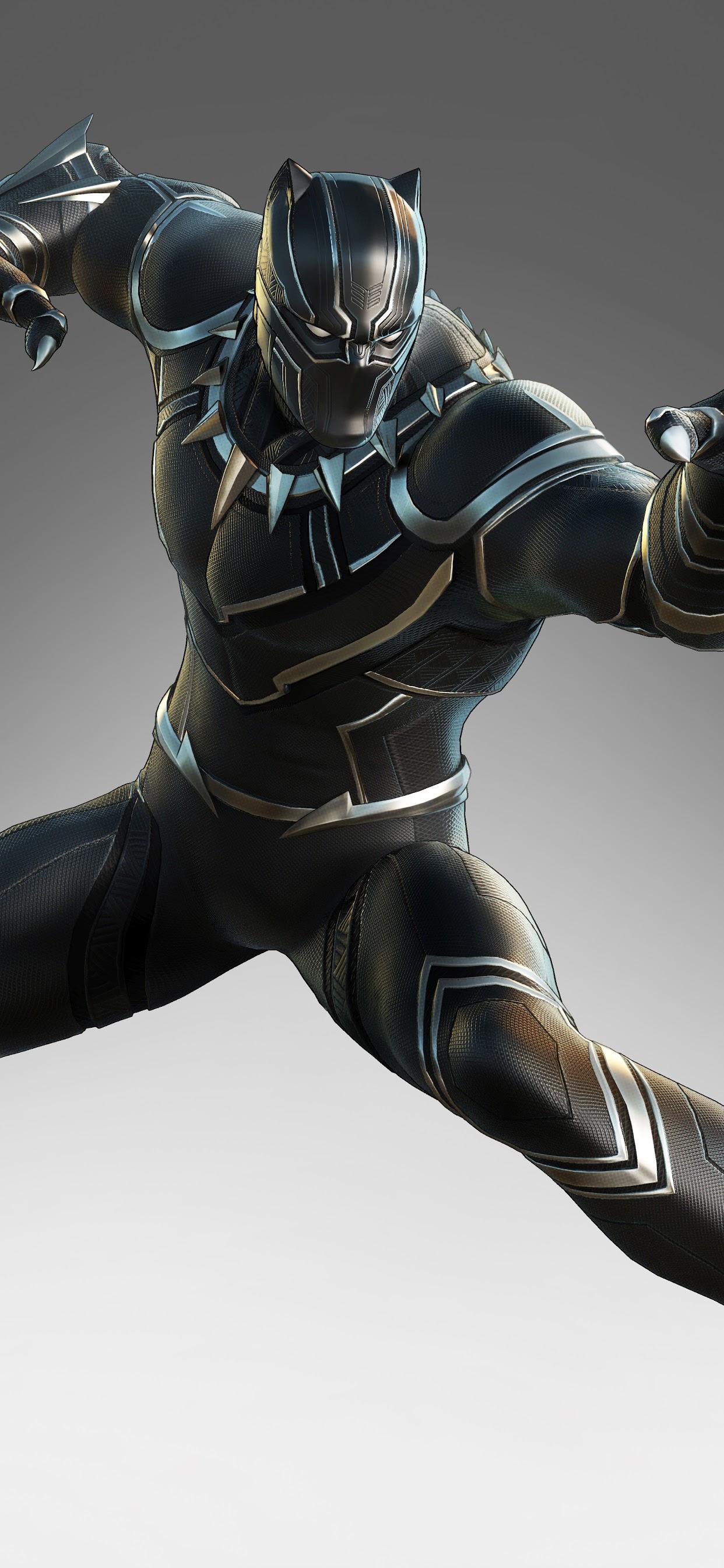 Black Panther Marvel Ultimate Alliance 3 8k Wallpaper 39