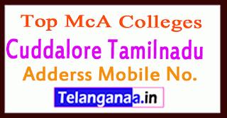 Top MCA Colleges in Cuddalore Tamilnadu