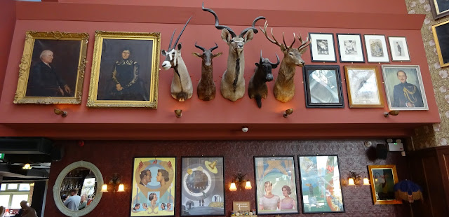 Interior Decor at Cosy Club Corn Exchange Manchester