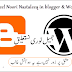 How to Used Noori Nastaleeq font in Blogger & Wordpress