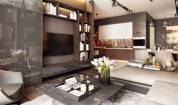 Homes With Elegant Decor And Neutral Colors | Modern House Interior ...