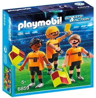 TOYS : JUGUETES - PLAYMOBIL Sports & Action 6859 Árbitros : Futbol Producto Oficial Abril 2016 | Piezas: | Edad: +5 años Comprar en Amazon España