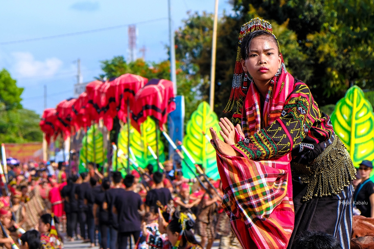 A young Tboli performer during the 20th Seslong Festival street dancing competition.