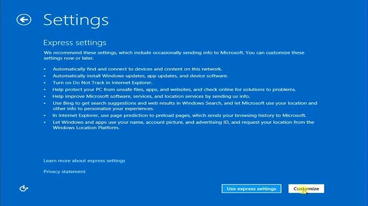 setting cara instal windows 8