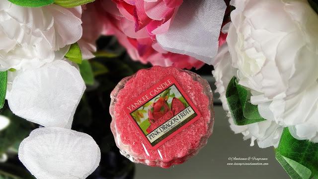 avis bougie pink dragon fruit yankee candle