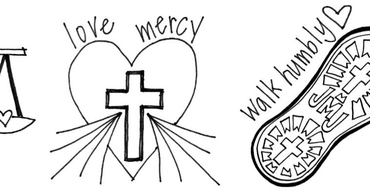 Look to Him and be Radiant: Mercy Themed Printables