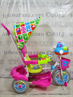Royal RY3082C UFO Double Music Baby Tricycle