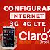 Configurar Internet APN 3G/4G LTE Claro Brasil 2018