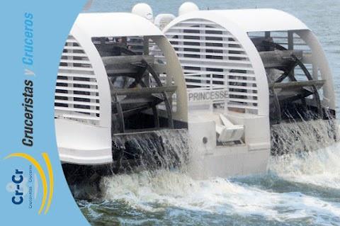 Elbe Princesse con propulsión de ruedas de palas, nuevo barco de CroisiEurope