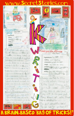 "Secret Stories® Phonics ""Kindergarten Writing on Steroids!"" — SPRING FAIRYTALE"