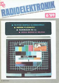 Okładka Radioelektronik 6/89