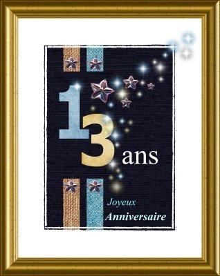 Anniversaire 13 Ans Garcon