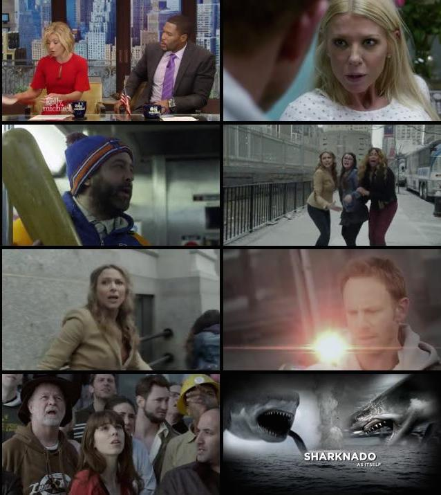 Sharknado 2 The Second One 2014 UNRATED Dual Audio 480p BRRip 300mb