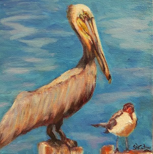 """Move it, Kid!"", Pelican and Seagull SOLD!"