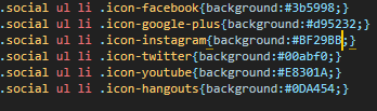 barra social