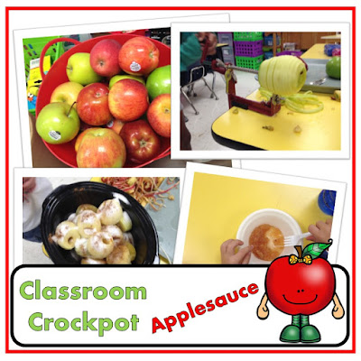Crockpot Applesauce In The Classroom (Perfect for Johnny Appleseed Day)
