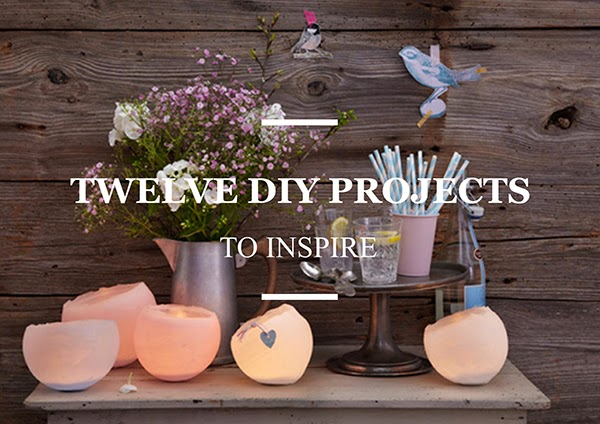 Twelve Inspiring DIY Projects - Wax Lanterns