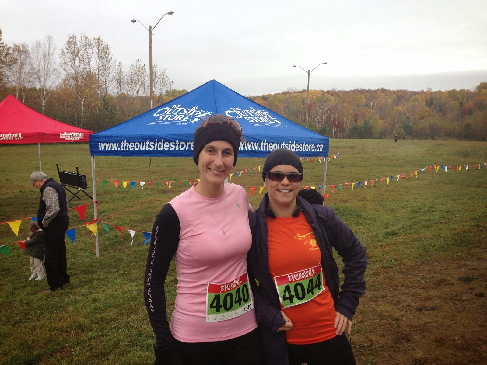 Photo of Nancy and Julie: Turkey Gobbler Trail Race
