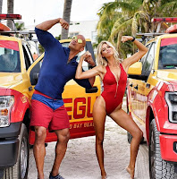 Dwayne Johnson and Kelly Rohrbach in Baywatch (2017) (30)
