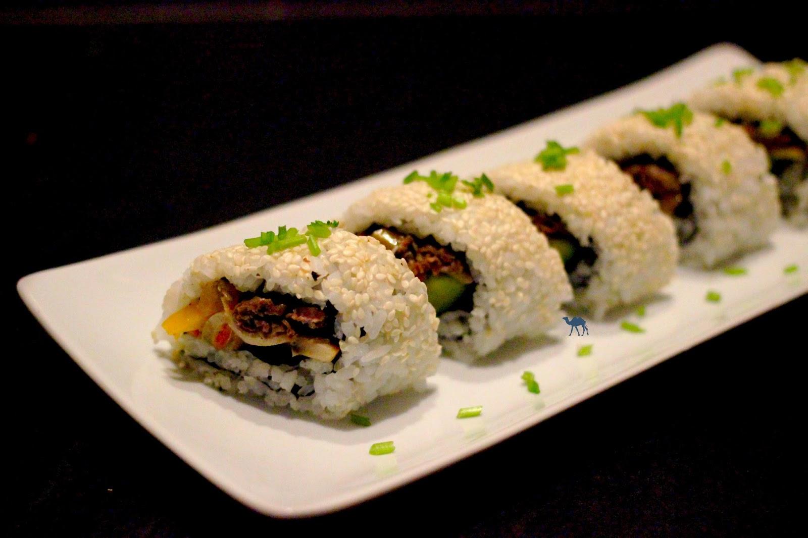 Le Chameau Bleu - Recette Maki Bulgogi - Cuisine fusion