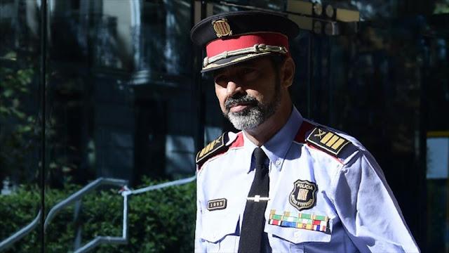 Gobierno de España destituye al jefe de Mossos d'Esquadra
