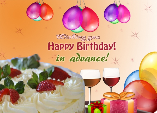 Advance Happy Birthday HD Wallpapers Free Download