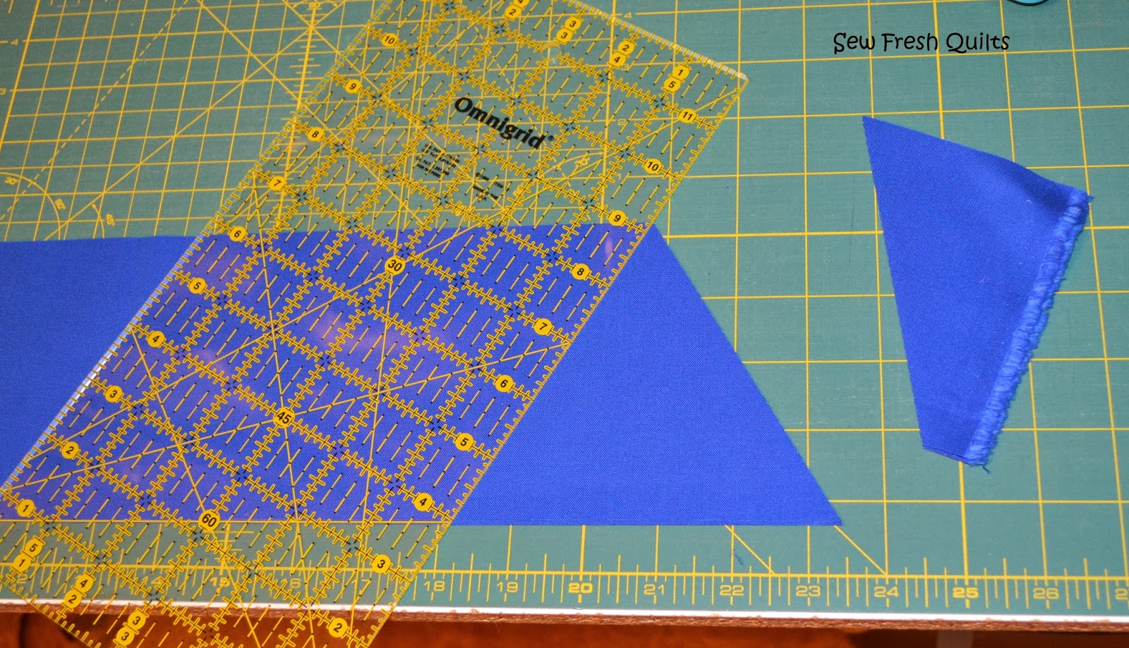 Sew Fresh Quilts Equilateral Triangle Quilt Tutorial