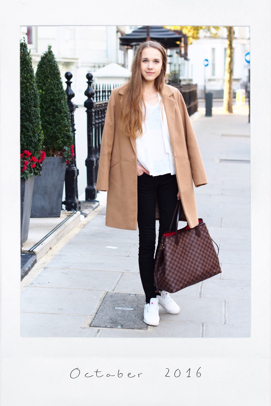 Autumn outfit inspiration with camel coat - Syysmuoti asuinspiraatio kamelitakki