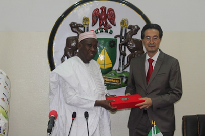 Ecuadorian Amb Visits Kano State Gov, Emir of Kano & Pres. of Kano State Chamber of Commerce