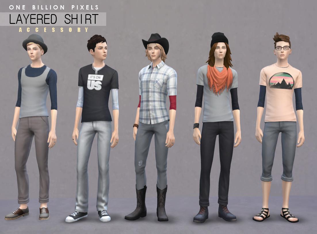 Sims 4 Cc Male Shirts – Amahl-Masr