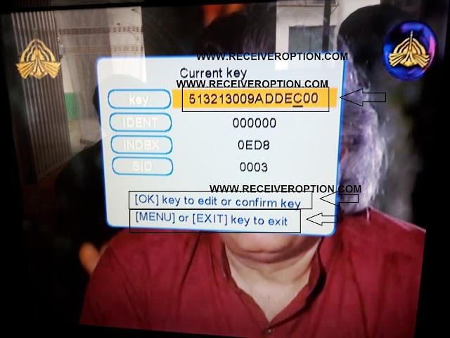 NEWSAT 2016 MPEG4 RECEIVER BISS KEY OPTION
