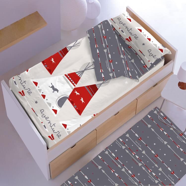 saco de dormir cama infantil